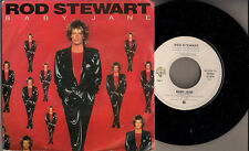 "Rod Stewart Baby Jane (Picture sleeve - multi images) Flemish 45 7"" sgl Belgium"