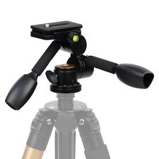 360 Swivel Ball Head+Quick Release Plate+Double Handle F Tripod DSLR Camera 22LB