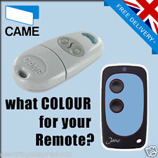 CAME GATE REMOTE CONTROL KEY FOB - TOP 432NA - UK SELLER - BLUE