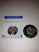Heroclix Greithoth's Hammer S104 Fear Itself Super Rare Special Object 104 SR LE