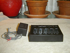 Realistic 32-1115, Frequency Equalizer, 5 Band Graphic Eq, Vintage Unit