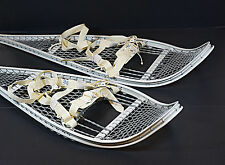 Magline Snowshoes Genuine Issue Military Army Magnesium White w/ Bindings NEW