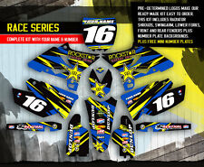 2002-2014 YAMAHA YZ 125-250 Dirt Bike MX Graphics kit decals