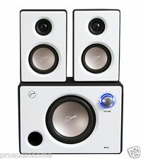 Swans M10 Multimedia 2.1 Computer Speakers - White