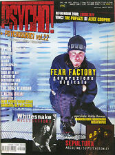 PSYCHO 46 2001 Fear Factory Whitesnake Savatage At The Drive-In Slash Tyla Cubre