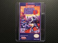 Megaman 3 Mega Man 3 Nes Cartridge Replacement Game Label Sticker Precut