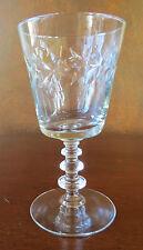 Libbey Rock Sharpe Empire Wreath #2002 Stem Water Goblet(s)