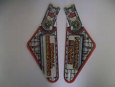 'SPACE STATION' Pinball Machine Slingshot Plastics Williams 1987 (Nos)