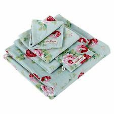 Cath Kidston Antique Rose Blue Face Cloth / Flannel BNWT - Includes Postage