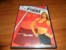 The Firm - Express Cardio (DVD, 2004) Used Fast & Firm Series