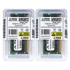 16GB KIT 2 x 8GB Toshiba DX730-ST6N03 DX735-D3201 DX735-D3204 Ram Memory