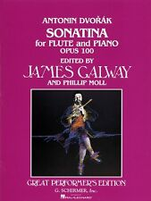 Sonatina Op. 100 Flute and Piano Woodwind Solo NEW 050480055