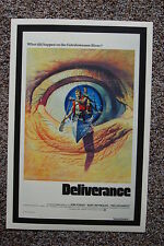 Deliverance Lobby Card Movie Poster#1 Jon Voight Burt Reynolds