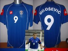 Serbia Montenegro SAVO MILOSEVIC Shirt XL Jersey Football Soccer Lotto BNWT New
