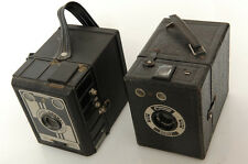 CORONET CONWAY SYNCHRONIZED (GB) & RARE BOBOX (FRANCE) 6X9CM BOX CAMERA.