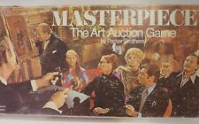 Masterpiece Board Game Parker Brothers 1970 Vintage Complete Art Auction
