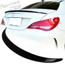 Painted Mercedes Benz CLA-class C117 W117 A Type Trunk Spoiler ABS CLA250 CLA45