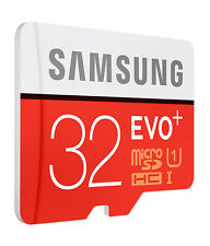 Samsung 32GB EVO Plus Micro SD SDHC UHS-I Class 10 Memory Card- Upto 80MB/S NEW