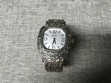 Women's Silver Tone Geneva Quartz Bangle Watch Analog