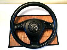 Mazda 3 Black Steering Wheel With Airbag Factory OEM 04 05 06 07 08 09