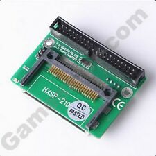 Dual CF Compact Flash to 40 Pin IDE HDD Converter Card Adapter For Laptop