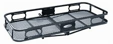 """Pro Series 63155 20"""" x 48"""" Cargo Carrier with Rails for 1-1/4"""" Receiver Hitch"""