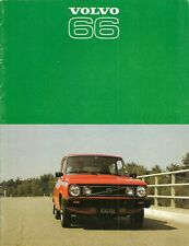 Volvo 66 1976-77 UK Market Sales Brochure GL Saloon Estate