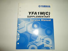 2000 Yamaha YFA1M (C) Supplementary Service Manual FACTORY OEM BOOK 00 DEAL