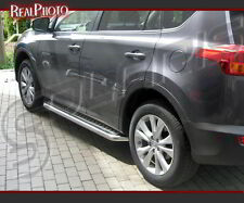 TOYOTA RAV4 MK4 2013+ SIDE STEPS / RUNNING BOARDS +GRATIS!!! STAINLESS STEEL!