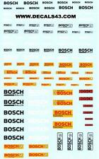 decals decalcomanie logo pour bosch  divers  1/43