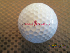 LOGO GOLF BALL-JOHNNIE WALKER SCOTCH WHISKY.....BURGANDY TEXT LOGO..SMALLER