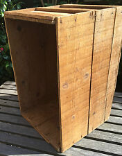 OLD VINTAGE WOODEN DISPLAY/ PACKING BOX 60cm L X 37cm W X 39cn High