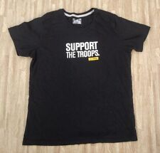 Under Armour Support The Troops Ladies' Black Shirt ~ L/XL ~ Women's I Will Our