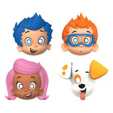 8 Bubble Guppies Childrens Birthday Party Paper Treat Favor Masks