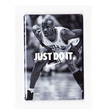 MICHAEL JORDAN / JUST DO IT - POSTER FRIDGE MAGNET (nike air costacos mars bulls