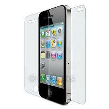 CitiGeeks 10x iPhone 4 / 4S Full Body HD Clear Front + Back Cover Skin Protector