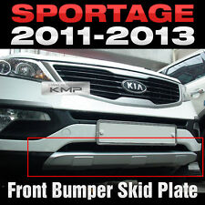 Front Bumper Skid Plate Molding Silver Painted 1P For KIA 2011-2016 Sportage R