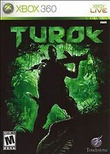 Turok XBOX 360 BRAND NEW / FACTORY SEALED!