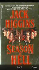 A SEASON IN HELL, by Jack Higgins - 1990 suspense PB 1st