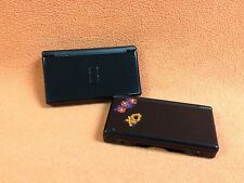 **Non-Working for Parts** Nintendo DS Lite Onyx Black System Console X2