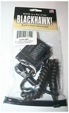 New Blackhawk Single Swivel/Snap Hook/Mini Ring Tactical Pistol Lanyard 90TPL2BK