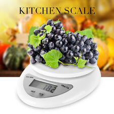 Max 11.02lb Electronic Digital Electronic Kitchen Scale Food Scale With Battery