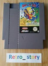 Nintendo NES The Simpsons Bart VS The World PAL