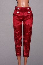LIV Spinmaster Doll Clothes Red Nylon Pants fit Fashionista Barbie