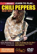 Lick Library LEARN TO PLAY RED HOT CHILI PEPPERS RHCP Guitar Lessons Video DVD