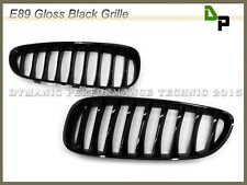 BMW Gloss Black Sport Front Kidney Grille Grill For E89 Z4 Convertible 09-15
