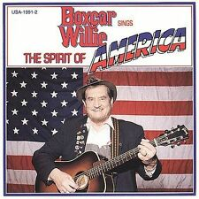 Boxcar Willie: Boxcar Willie Sings the Spirit of America  Audio Cassette