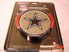 1 Dallas Cowboys Light Up NFL Power Decal Flashing Auto Logo