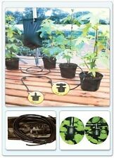 2 Instant Drip Watering Gravity Fed Irrigation Plant Greenhouse System Water Kit