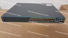 Cisco WS-C2960S-F24PS-L PoE+ FlexStack Catalyst switch 2960S-F24PS-L